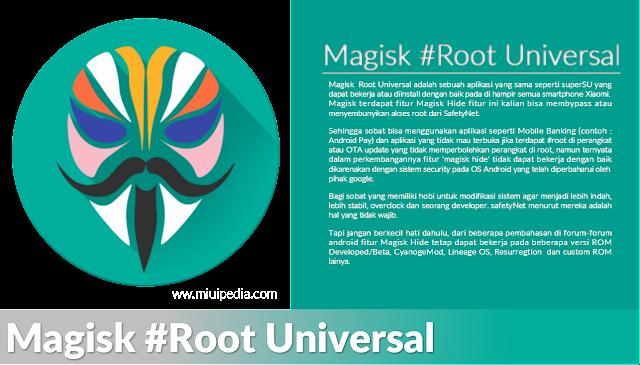Begini Cara Install Magisk Root Universal Terbaru untuk Semua Tipe Smarphone Xiaomi