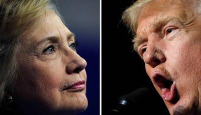 Isu Skandal Bayangi Debat Capres AS