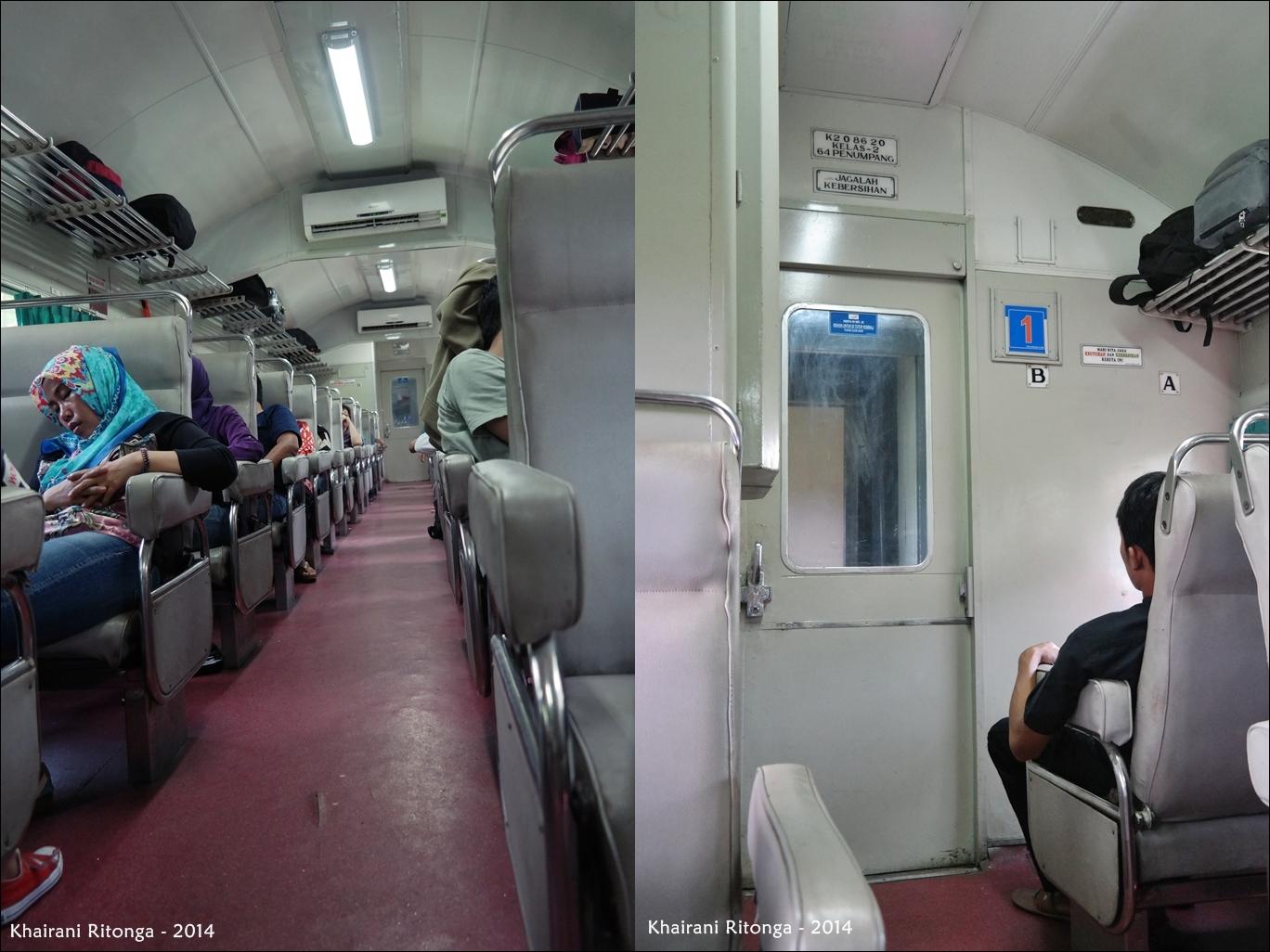 TravelScape Engineer Naik Kereta Api dari Jakarta hingga