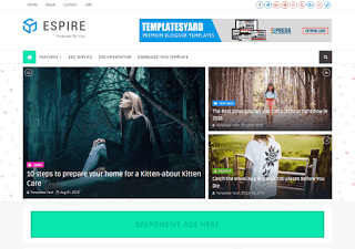 Espire Blogger Template