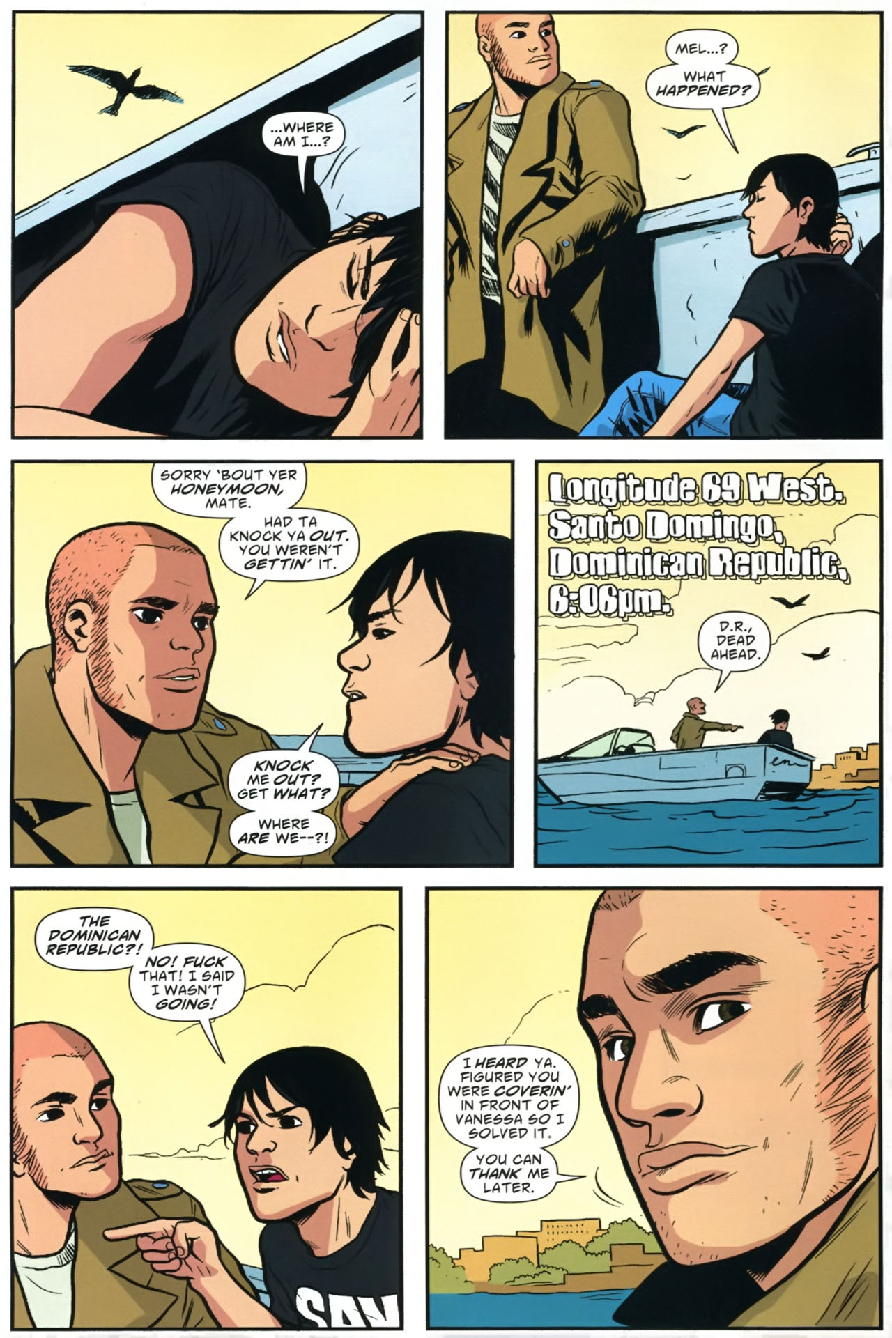Read online American Virgin comic -  Issue #23 - 6