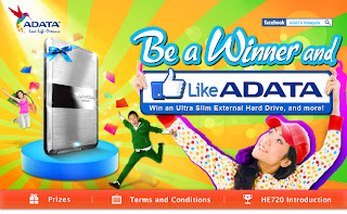 banner facebook he720 - SWEEPSTAKES - Win Ultra Slim External Hard Disk & Many More!