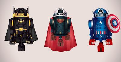RD-D2 Superhéroe