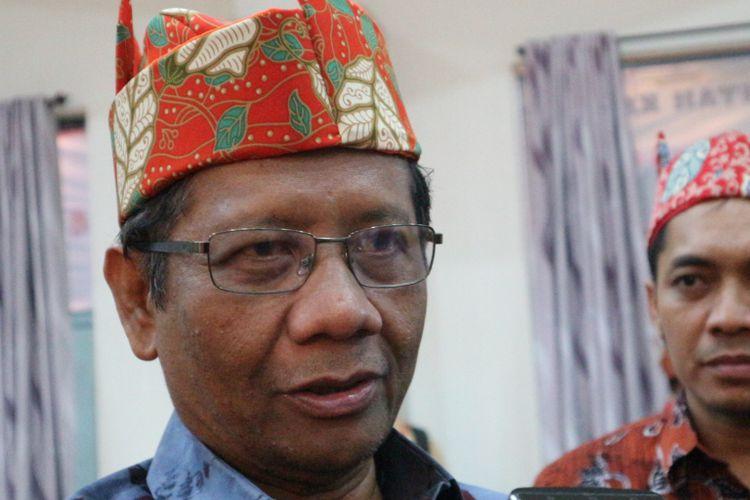Mahfud MD Anggap KPK Perlu Segera Tahan Setya Novanto
