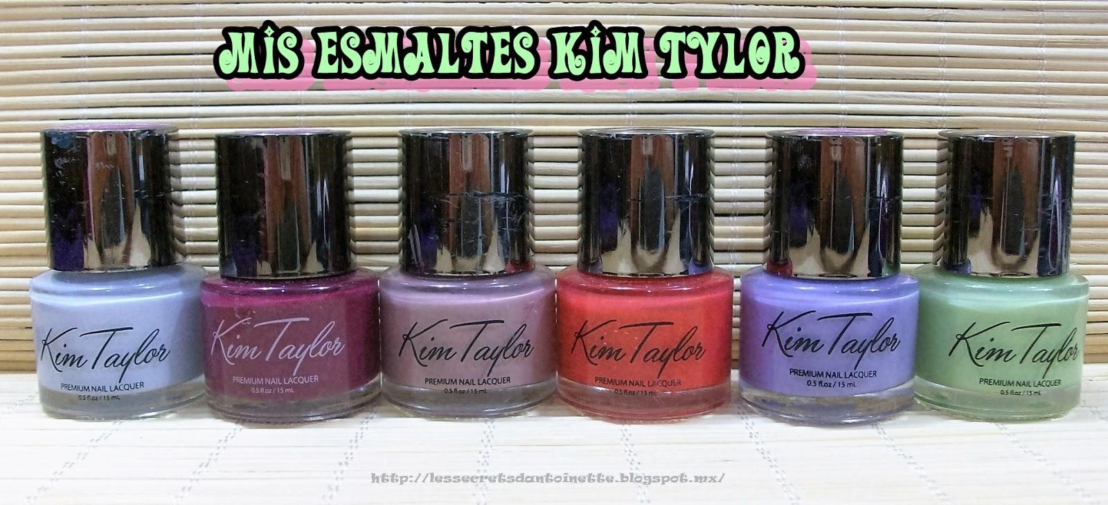 Les secrets d\' Antoinette: Esmaltes para uñas Kim Tylor ♥ mini ...