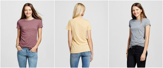 Mossimo Short Sleeve Triblend Crew $6 (reg $9) - when you buy 2!