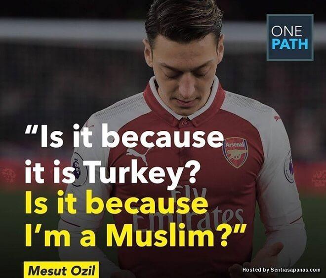 Mesut Ozil Kecewa Dianggap Pendatang, Bersara Dari Skuad Jerman