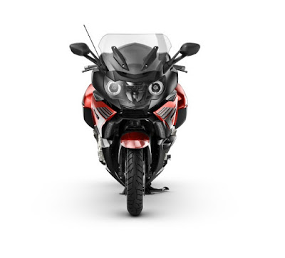 BMW K 1600 black and red color front view Hd Image