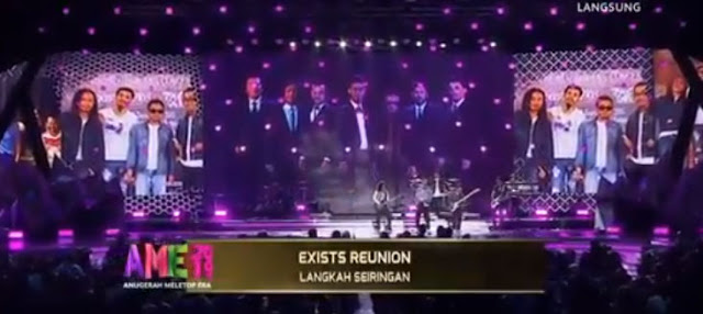 Video Penuh Persembahan Exists Reunion di Pentas AME 2019