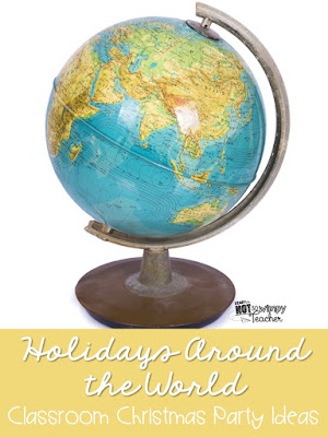 this post contains affiliate links - Christmas Around The World Decorations For A Party