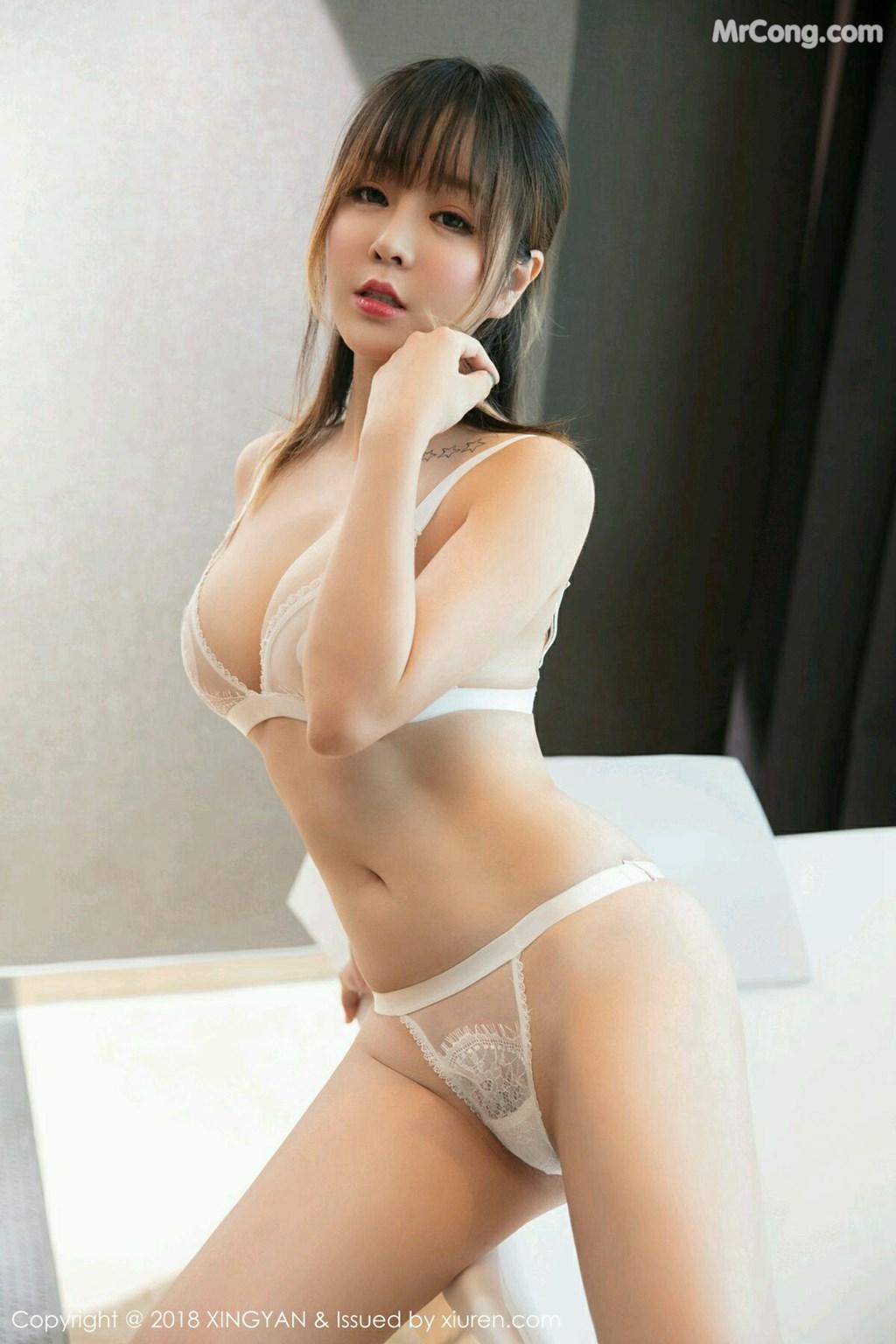 Image XingYan-Vol.076-Wang-Yu-Chun-MrCong.com-004 in post XingYan Vol.076: Người mẫu Wang Yu Chun (王雨纯) (41 ảnh)