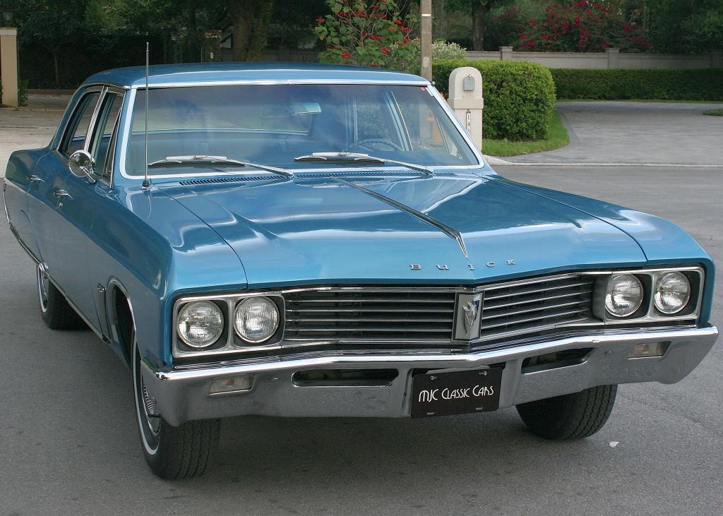 All American Classic Cars: 1967 Buick Skylark 4-Door Sedan