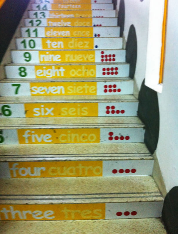 30 Extremely Intelligent School & University Ideas That Will Make You Jealous - Lovely Counting Stairs