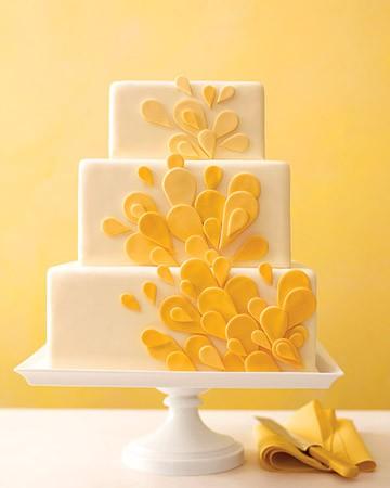 Wedding Cakes Pictures Yellow Wedding Cake Ideas