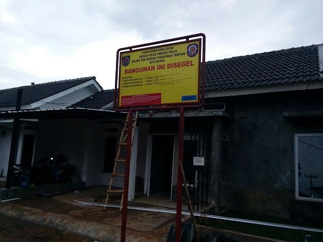 Sudah Urus IMB, Segel Bangunan Belum Dicopot