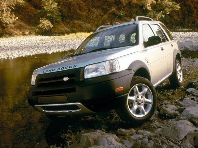 Land Rover Freelander - Carro de Jair Bolsonaro