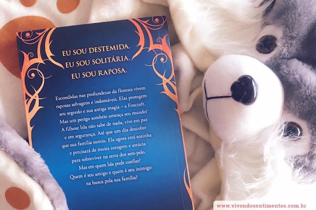 Dica de Livro: A magia da Raposa - Foxcraft: Livro 1