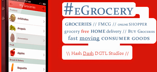 #eGrocery // Zero hassles // Scheduled Delivery // Extra Savings