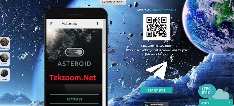 [SCAM] Review Asteroid - Một site đầu tư đặc biệt - Lãi 1.5% - 7.5% hằng ngày - Đầu tư tối thiểu 10$ - Thanh toán Manual