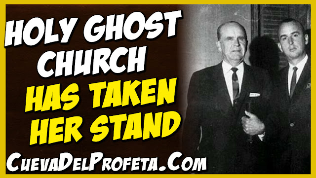 Holy Ghost Church has taken her stand - William Marrion Branham Quotes
