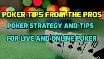 3 Tips For The Beginner Poker Player