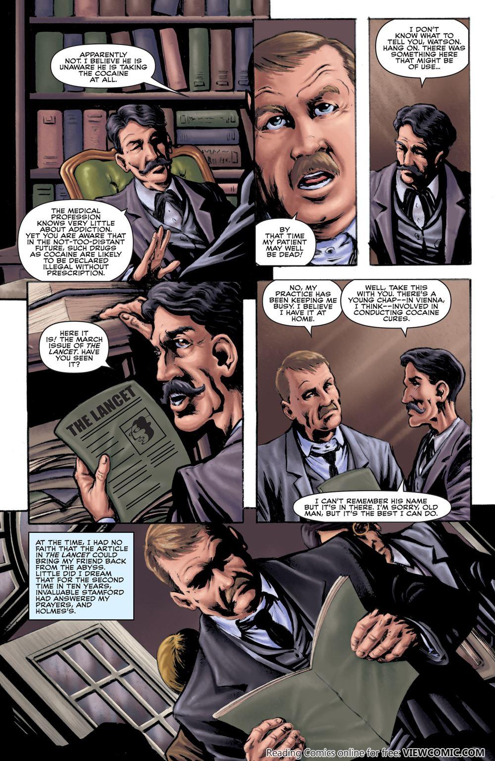 Sherlock Holmes – The Seven-Per-Cent Solution 01 (2015