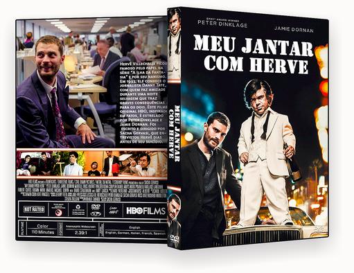 CAPA DVD – Meu Jantar Com Herve DVD-R