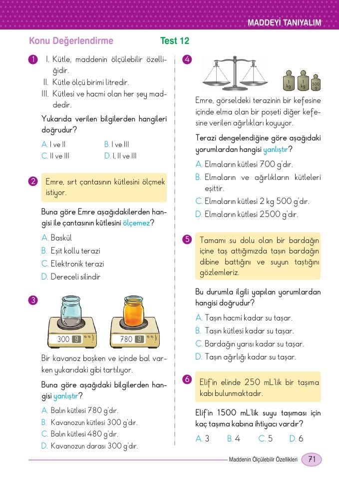 5 Sınıf Din Kültürü Ders Kitabı Cevapları Dikey Yayınları Ata