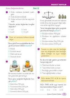 5. Sınıf Din Kültürü Ders Kitabı Cevapları Dikey Sayfa 71