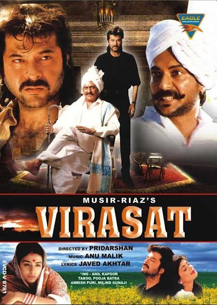 Poster of Virasat (1997) Full Movie [Hindi-DD5.1] 720p DVDRip ESubs Download