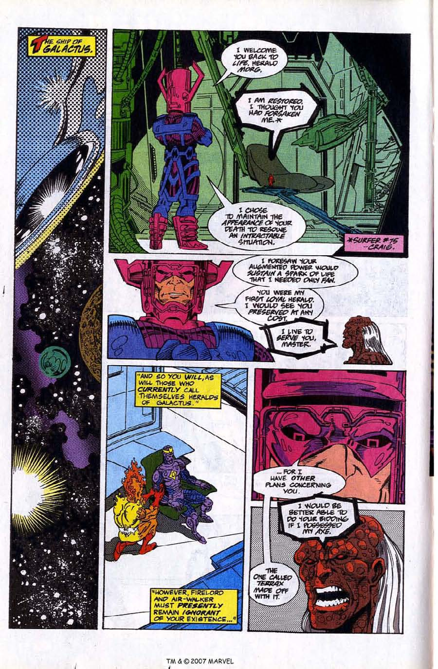 Read online Silver Surfer (1987) comic -  Issue #78 - 12