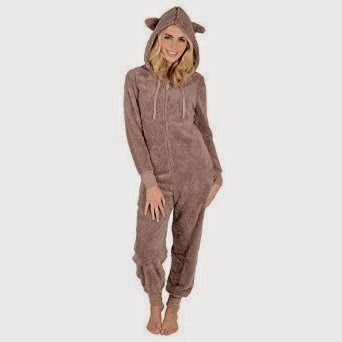499fe6b769495 Best Ladies Fleece All In One Piece Pyjamas Jump Sleep Suit Onesie PJs  Nightwear Review