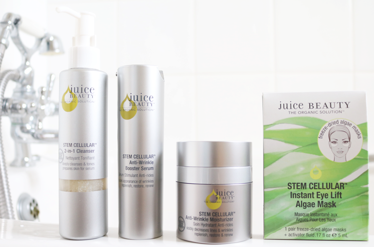 Juice Beauty Stem Cellular range review