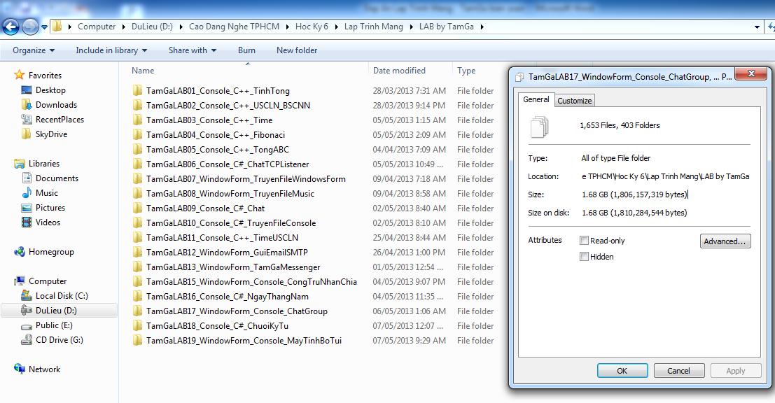 Lập Trình Mạng [ Lập Trình Socket, TCP, UDP, TCPListen, TCPListener, ... ]