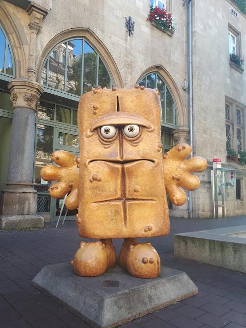 Bernd das Brot aka Bernd the bread in Erfurt