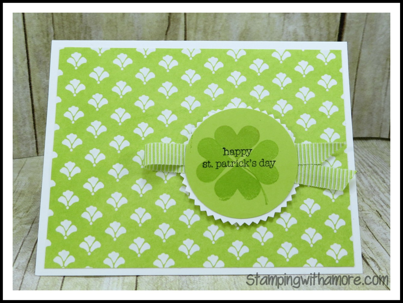 Stampingwithamore St Patricks Day Card