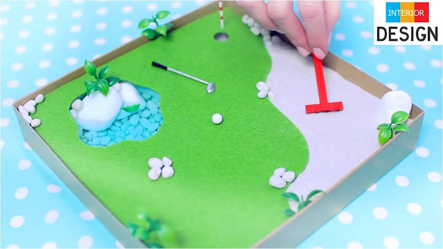 DIY Miniature Golf Zen Garden 97