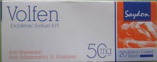 Volfen 50mg tablet