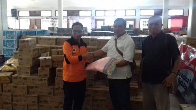 Kejari Kota Tangerang Kirim Relawan Dan Bantuan Paska Tsunami
