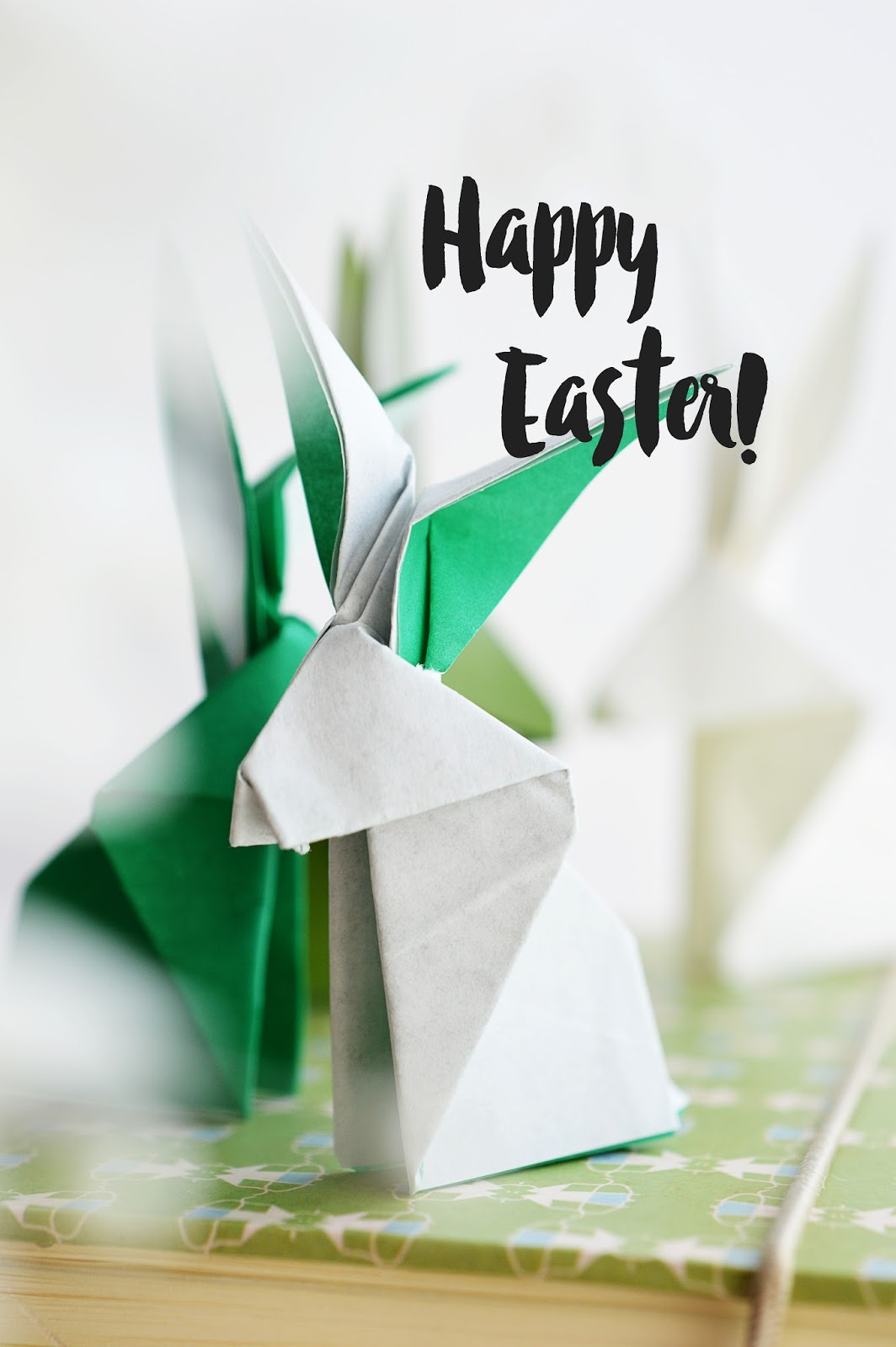 DIY Origami Easter Bunny | Motte's Blog