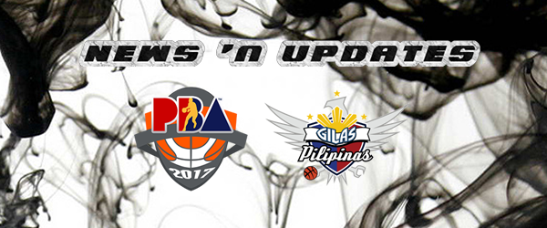 List of PBA and Gilas Updates as of July 29, 2017