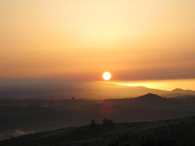 Eastern sunrise in California: LadyD Books