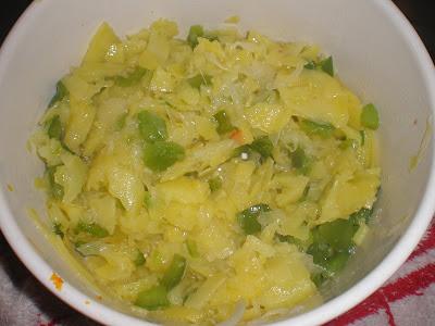 TORTILLA VEGANA DE PATATAS, PIMIENTO Y TOMATE EN MICROONDAS la cocinera novata verduras sin huevo receta cocina gastronomia vegetariano healthlylife vidasana