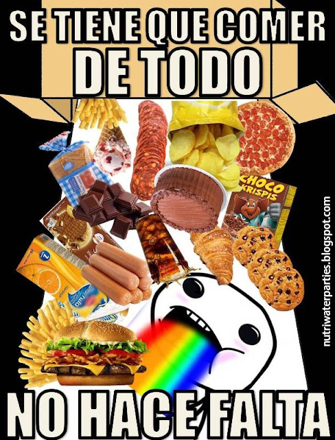 meme se tiene que comer de todo con moderacion dieta saludable