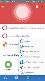 Sophos menu 2