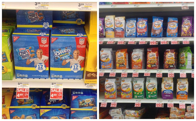 Oreos and Goldfish at Giant Eagle