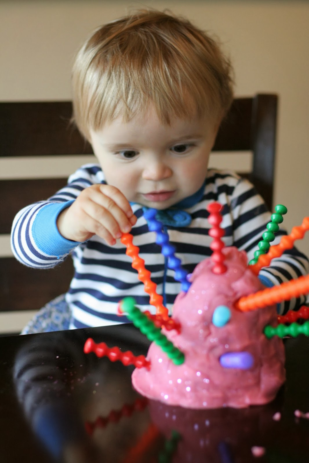 Introducing Playdough To Babies And Toddlers