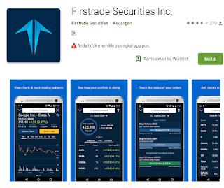 Ulasan Lengkap Tentang Aplikasi Firstrade Securities Inc. Di Android