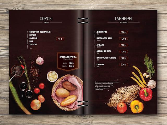 menu de restaurantes