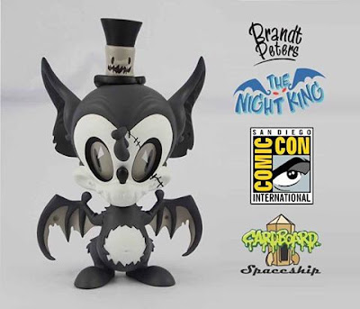 San Diego Comic-Con 2016 Exclusive Mono Edition The Night King Vinyl Figure by Brandt Peters x Cardboard Spaceship